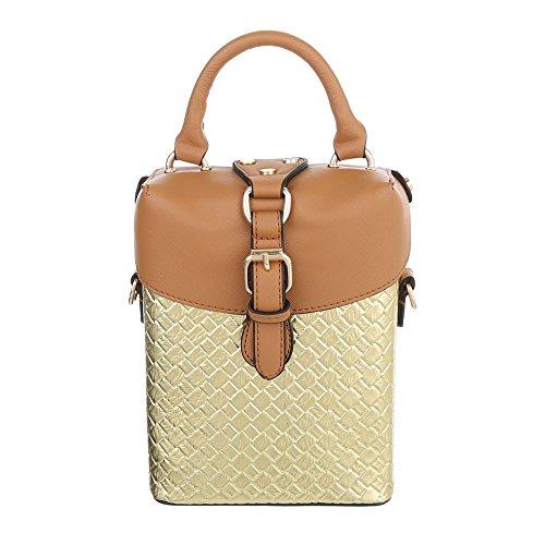 Taschen Handtasche Modell Nr.1Gold