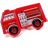 Kinder-Teller Feuerwehr, Kinder Geschirr. Kinderteller Teller Tablett …