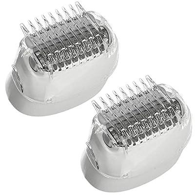 Braun Genuine Shaver Cutter Head for Silk-Epil 5 7 series Epilator (Pack of 2)