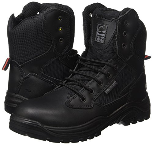 Steel Toe Cap Combat Tactical Safety Ankle Boot Security Military Police Boot 7