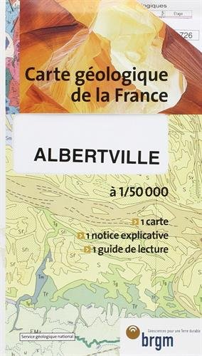 Carte géologique : Albertville