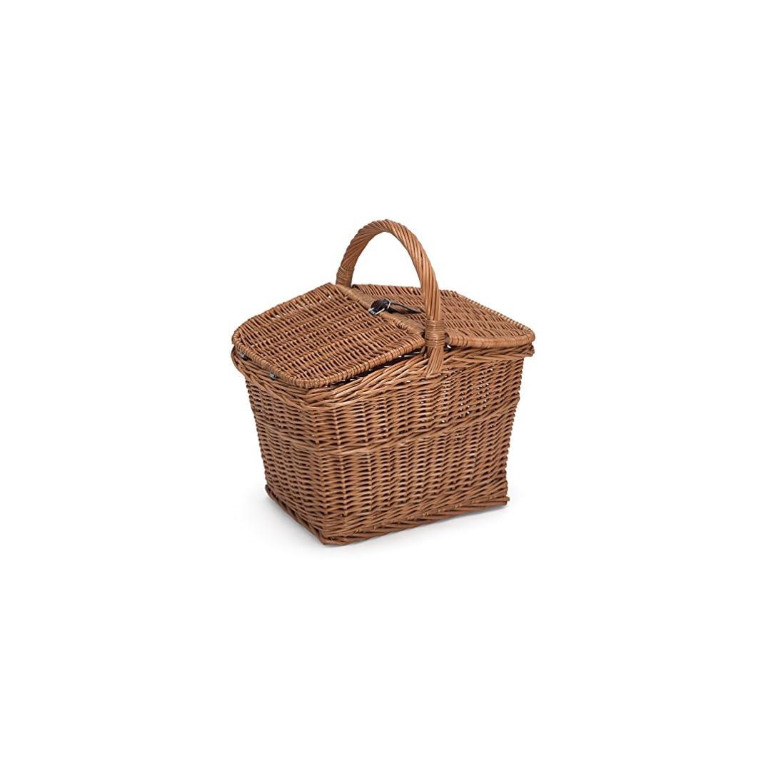 Picknick-Korb mit Deckel, ohne Inhalt, 40x30x47cm