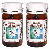 VitalAstin SPORT mit 12 mg natürlichem Astaxanthin - versandkostenfrei - 2 DOSEN (2 x 50 Kapseln) NEUE FORMEL = natürlichem Astaxanthin pus Zink und Vitamin B1 - Das Original Ivarsson's VitalAstin - Ein Kapsel täglich-Formula - höher dosiert - mehr Effekt!