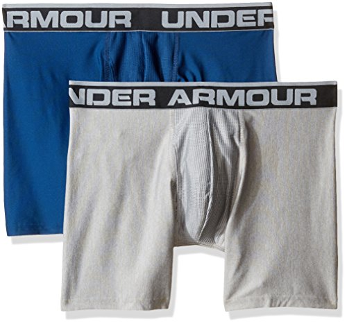 Under Armour Herren O Series 6 zoll BoxerJock 2 PK Blackout Navy