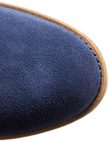 Cole Haan Roper Grand-Boot Blazer Blue Suede