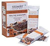 SIRIMIRI Nutrition Bar - Cocoa Coconut & Almonds(Pack of 6)