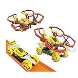 Hot Wheels–Auto und Dron, Rot (Mo...
