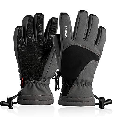 Hicool Kinder Skihandschuhe Winter Handschuhe für Mädchen Junge | 00713325935109