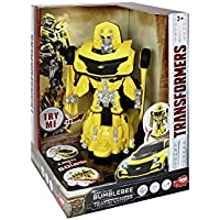 DICKIE-Spielzeug 203113016 Transformers Actionfigur-M5 Robot Fighter Bumblebee