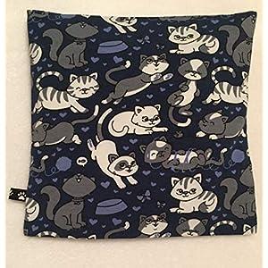 Kleines Schlafkissen Lavendel, Katzen, Kindergarten, Schlafhilfe, Nachtkissen,Kräuter kissen, Lavendelkissen, Geschenk…
