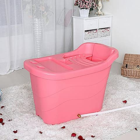 YUGANG Bambini oversize Vasca Extra Large plastica dura idromassaggio per adulti bagno Barrel Vasca da bagno vasca da bagno con isolamento di copertura può sedere ( colore : 5# )