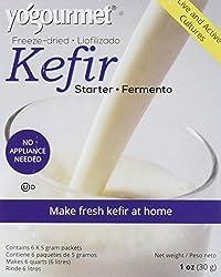 1 : Yogourmet Freeze Dried Kefir Starter, 1 Ounce box
