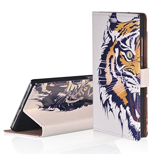WindCase Klappetui Brieftasche PU Leder Schutzhülle für ASUS ZenFone 3 Deluxe ZS550KL 5.5