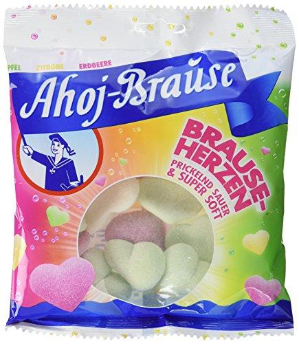 Preisvergleich Produktbild Ahoj Brause Herzen,  12er Pack (12 x 200 g)