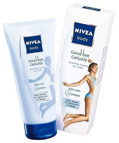 2x Nivea Body Gel je 200ml Good Bye Cellulite mit Lotus-Extrakt und L-Carnitin