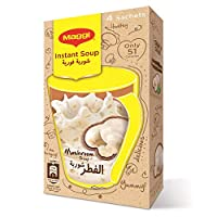 Maggi Instant White Mushroom Soup, 12 gm  - Pack of 4
