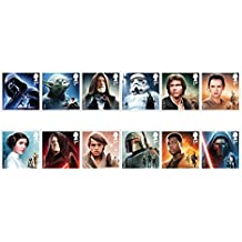 STAR WARS - The Force Awakens Mint Stamps Set by Royal Mail