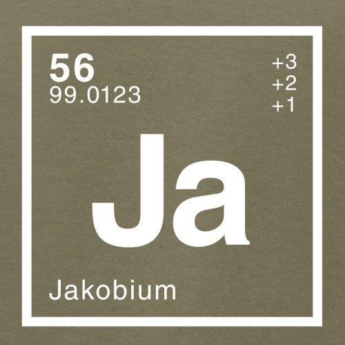 Jakob Periodensystem - Herren T-Shirt - 13 Farben Khaki