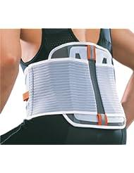 Thuasne Sport 03600320500199 - Cintura de mantenimiento lumbar mixta para adulto (talla XXL), color gris