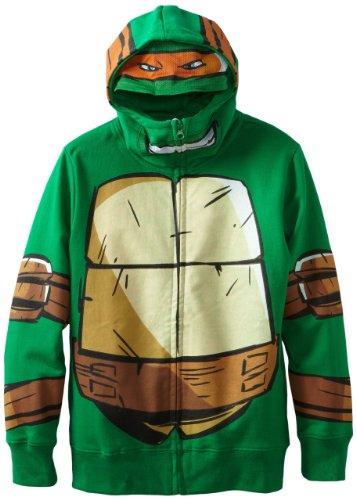 Freeze Herren Teenage Mutant Ninja Turtles Zip Up Hoodie, ()