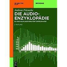 Die Audio-Enzyklopädie (De Gruyter Reference)