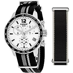 Mens Tissot Quickster Chronograph Watch T0954171703710
