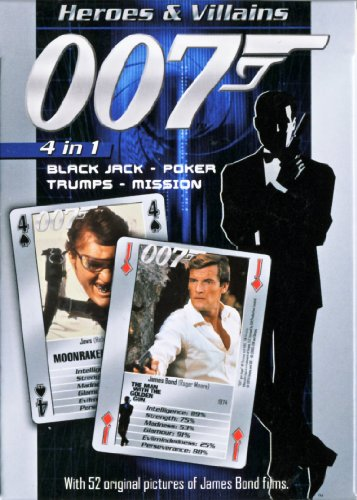 James Bond 007 - Heroes and Villains Playing Cards