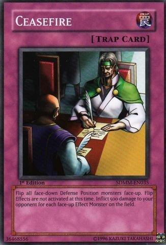 Yu-Gi-Oh! - Ceasefire ( SDMM-EN035 ) - Structure Deck: Machina Mayhem - Unlimited Edition - Common by Yu-Gi-Oh!