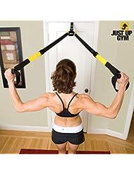 OEM Just Up Gym - Tensores para ejercicios en suspensión, color negro