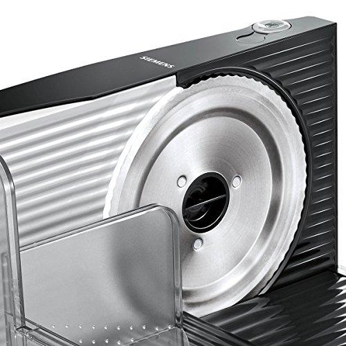 Siemens MS4000B Allesschneider Universal-Wellenschliffmesser, klappbar, 100 W, anthrazit / grau -