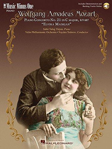 Mozart Concerto No. 21 in C Major, Kv467 'Elvira Madigan' (2 CD Set) (Music Minus One) por Hal Leonard Pub