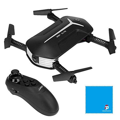 JJRC H37 Baby Selfie WIFI FPV Drohne mit HD 720P Kamera Live Übertragung faltbare RC Quadcopter mini Drohne Taschedrohne, Höhehalte Funktion, auto Verschönern Modus, G-Sensor Steuerung & Handy APP-Steuerung