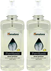 Himalaya Pure Hands Hand Sanitizer - 500 ml (Pack of 2)