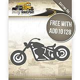 Stanzschablone - Amy Design - Daily Transport - Motorrad