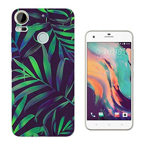 002106 - Cool Green Tropical Plants Flowers Beach Fern Trees Design HTC Desire 10 Pro 5.5