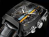 TAG Heuer CAL5110.FC6265 Montre chronographe automatique Monaco 24 Calibre 36 Édition limitée (mondial) avec verre saphir, bracelet en cuir d'alligator