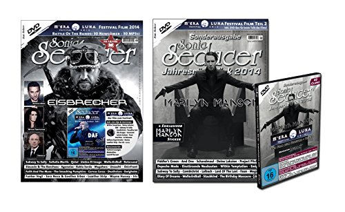 Bundle: Sonic Seducer 12-2014 + Jahresrückblick 2014 + 2 DVDs: M'Era Luna 2014 + exkl. Sticker von Marilyn Manson, Bands: Depeche Mode, And One, Eisbrecher, Within Temptation, Unheilig u.v.m.