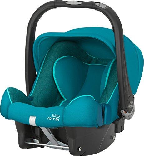 Preisvergleich Produktbild Britax Römer Babyschale BABY-SAFE PLUS SHR II, Gruppe 0+ (Geburt - 13 kg), Kollektion 2017, Green Marble