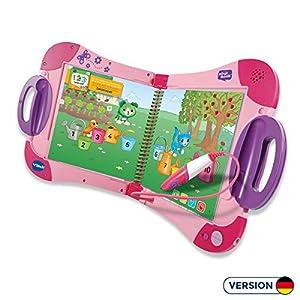 VTech - Sistema de Aprendizaje Interactivo, MagiBook, Color Rosa, versión Alemana