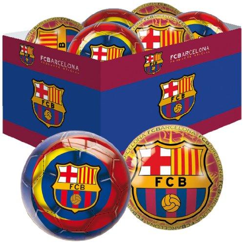 Unice – Caja 12 pelotas 150 mm.  f.c. barcelona