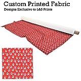 Weihnachten Schneemänner rot Design Digitaldruck Flagge /