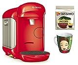Bosch Tassimo VIVY 2Bundle + Ritzenhoff Tasse à collectionner 14. Edition + TDisc Caffe Crema Classico Rot