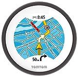 TomTom Vio Motorroller-Navigation (6,1 cm (2,4 Zoll) Display, Europa Karten, Radarkameras auf Wunsch, Anruferanzeige...