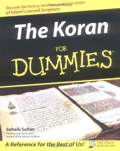 [(The Koran For Dummies)] [ By (author) Sohaib Sultan ] [June, 2004]