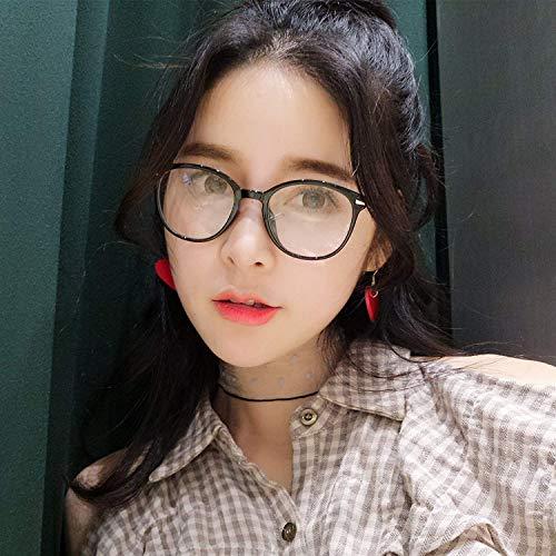 SCJ Revive Alten Zoll tr   90 ovalen und transparenten Brillengestell weiblichen runden Gesicht der anastigmatische Spiegel ist weiblich Han Ban Chao Literaturspiegel gehen zusammen mit einem ku