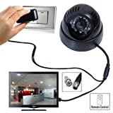 #7: Citra CCTV Dome DVR Camera TV-Out SD-Card, Night Vision, Remote Control with SD Card Recording, 3GP Video Format