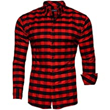 8341a1c66b949e Suchergebnis auf Amazon.de für: hemd rot schwarz kariert herren