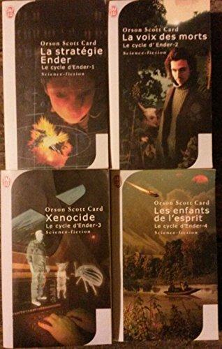 Le cycle d'Ender en 4 tomes (La stratégie Ender, La voix des morts, Xenocide, Les enfants de l'esprit).