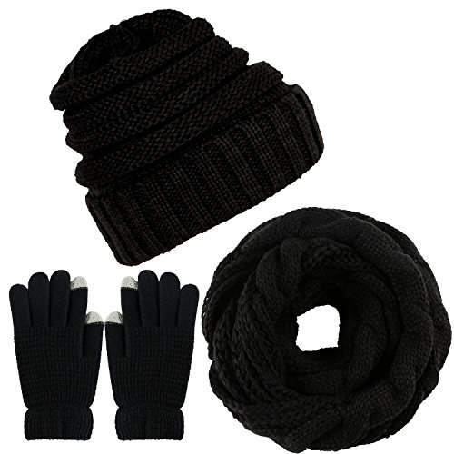 Skiing Gloves Kids Adult Winter Cycling Ski Gloves Boys Girls Touchscreen Warm Gloves Fleece Sports Gloves Bike Gloves For Children 4-10 Years Lustrous Sports & Entertainment