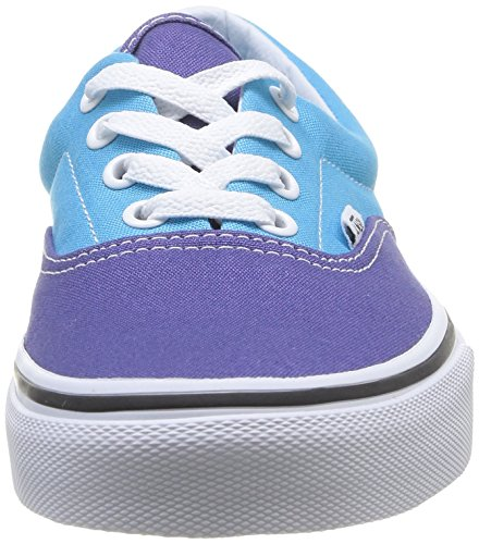 Vans U Era, Scarpe da Skateboard Unisex-Adulto Multicolore (Skipper Blue/Cyan Blue)